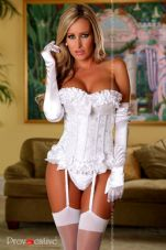 Provocative Magic Moments Corset Ivory